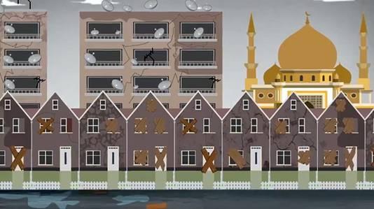 Het beeld van een verpauperde wijk volgens Leefbaar.
