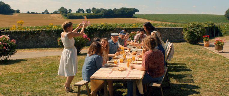 """Baetens: """"De film gaat over een gezin, maar heeft vooral een maatschappelijke dimensie die me heel erg aanspreekt."""" Beeld Nord Ouest films"""