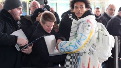 Baby-Mannschaft met Opa Löw: Sané (die opwachting maakte met jas van 25.000 euro) uithangbord van verjongd Duitsland