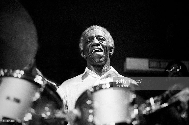 'Die harde drumklappen waren het eerste wat ik echt mooi vond van jazz.' Beeld