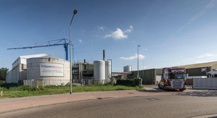Boxtel, de waterzuiveringsinstallatie van Hydro Business op het terrein van vleesverwerker Vion.