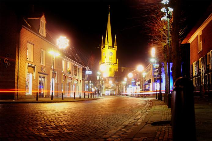 Sfeerverlichting in de Hogestraat was het eerste wapenfeit van de winkeliersvereniging die enkele jaren geleden ontstond.