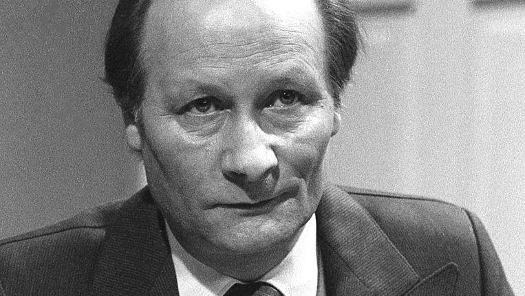 Cor van Rijn in 1982. Beeld Dijkstra BV