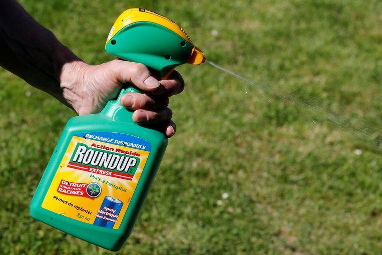 Onkruidbestrijder Roundup, met daarin glyfosaat. Beeld Reuters