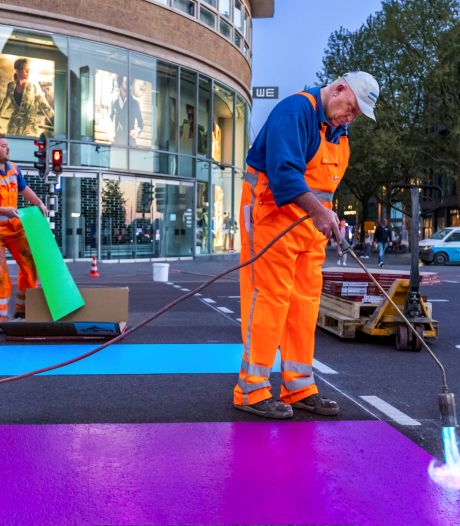 Gaybrapad straalt weer in alle kleuren van de regenboog