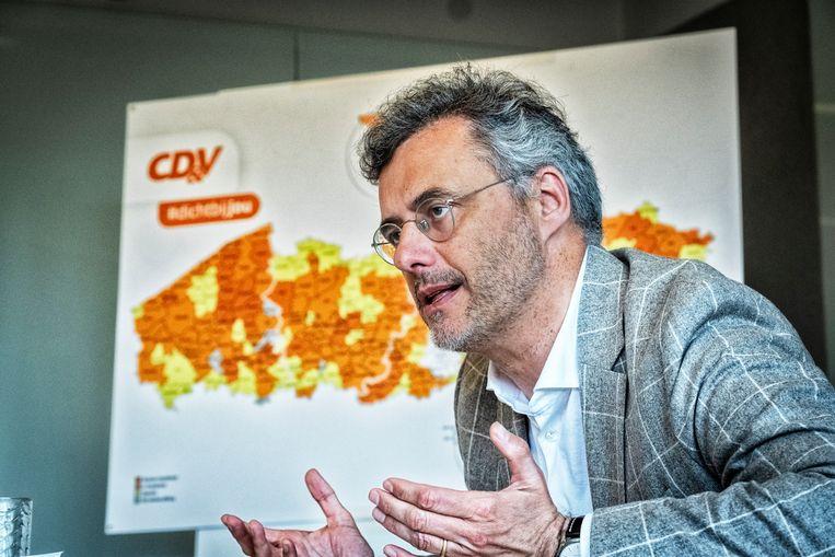 Coens: 'De tijd dat ik voor een vergadering van drie uur naar China en terug vloog, is definitief voorbij.' Beeld Tim Dirven