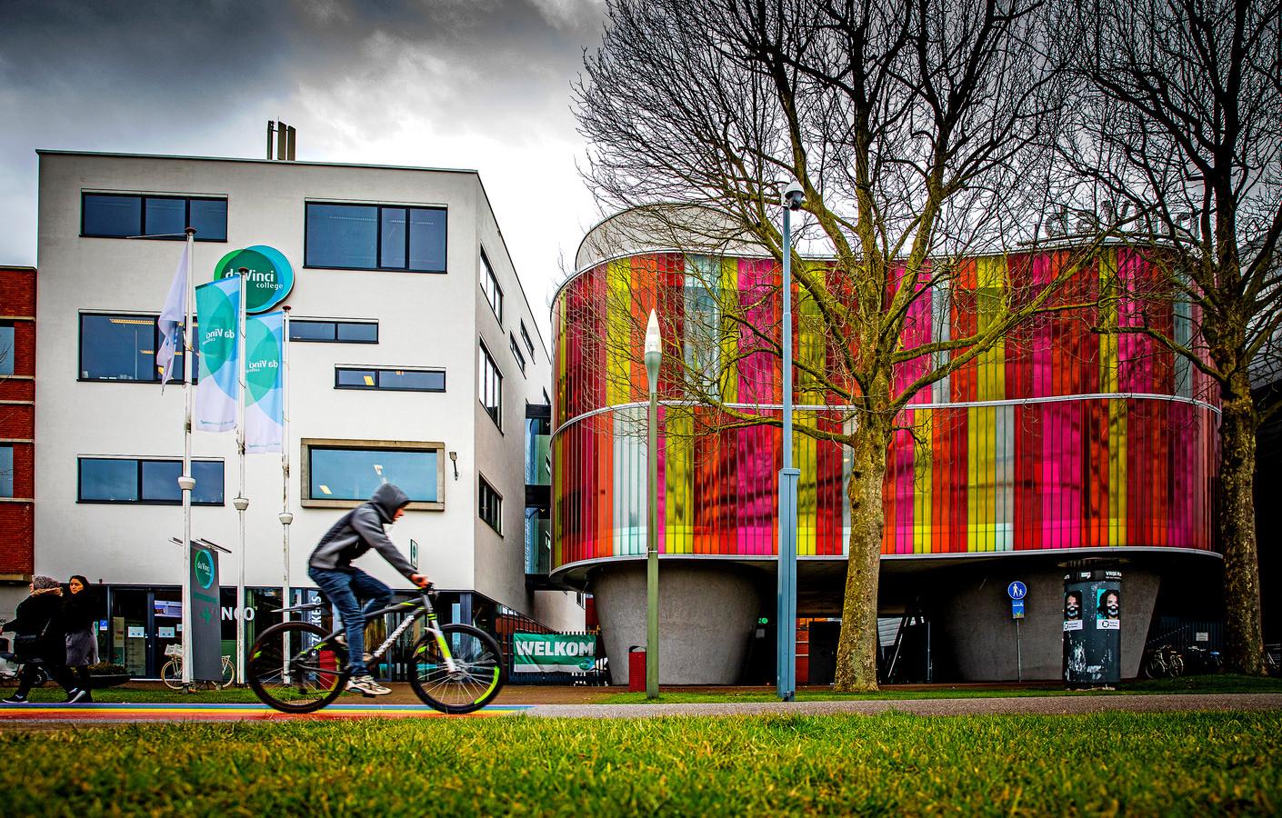 Da Vinci college op het leerpark in Dordrecht.