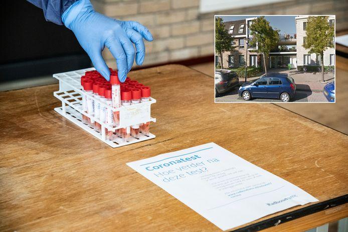 De huisartsenpraktijk aan de Kerkstraat in Harmelen is deze week alleen nog maar open voor de spoedeisende hulp.