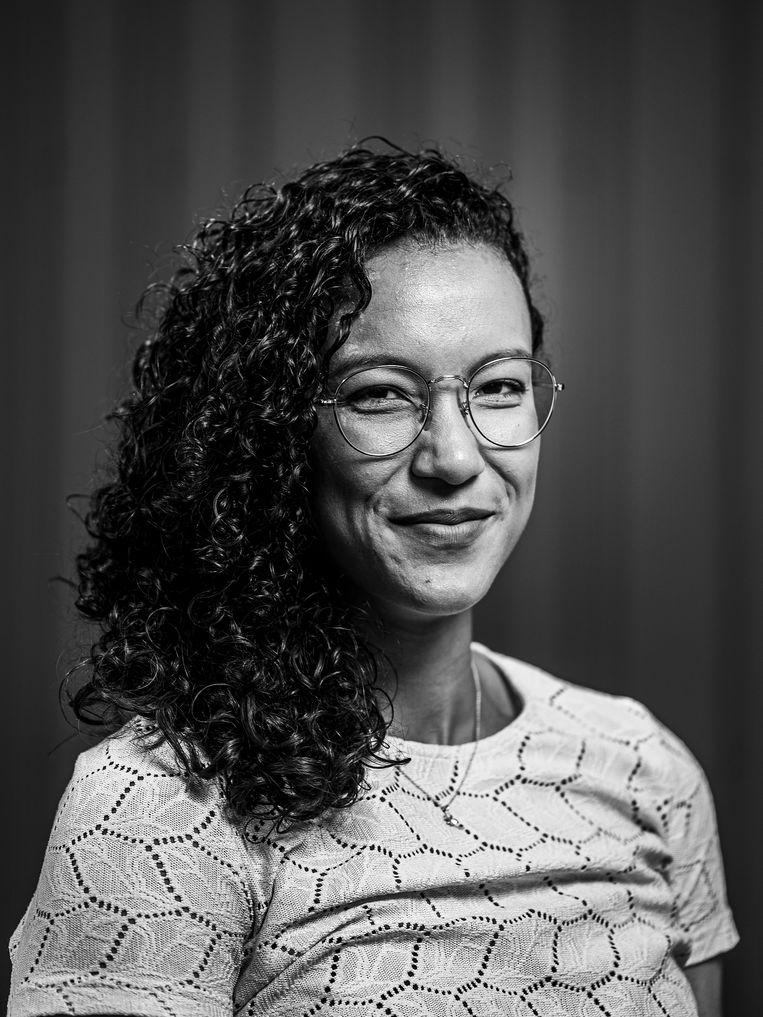 Lichelle Wong: 'Na mijn carrière heb ik opnieuw moeten leren wat normaal is.' Beeld Jiri Büller / de Volkskrant