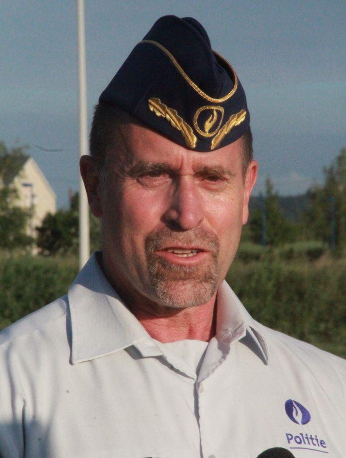 Didier Vandecasteele, directeur Operaties West-Vlaanderen van de federale politie.