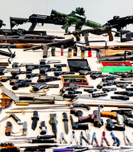 Een week lang straffeloos wapens inleveren op verschillende plekken in de regio