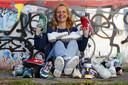 Ingrid Bakker (56) is verliefd op haar collectie sneakers.