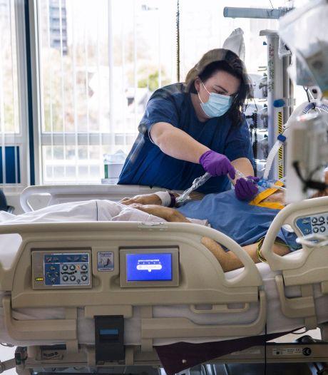 Minder coronapatiënten op ic's regionale ziekenhuizen, maar meer op verpleegafdelingen