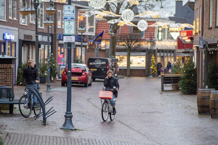 De Prinsenstraat en het Kerkplein staan als eerste op het programma om aangepakt te worden in het centrum van Dalfsen.