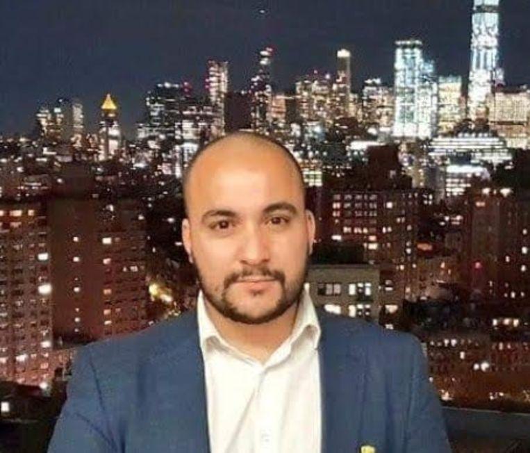 Youssef Kobo (A Seat at the Table): 'Zeker op het internet wil iedereen zich om ter zuiverst voordoen. Niemand mag nog uit de bocht gaan of een lichtjes afwijkende mening hebben; iedereen moet zich onmiddellijk tegen iets uitspreken en iedereen zit continu op elkaar te schieten.' Beeld RV