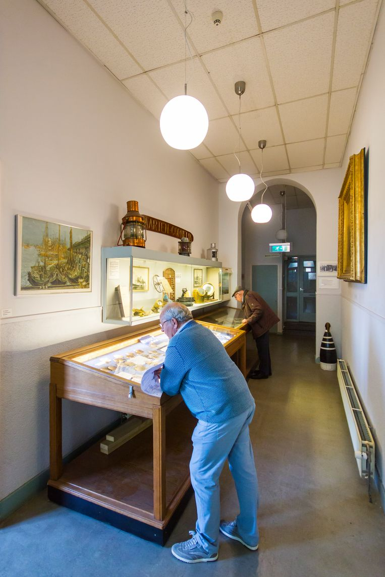 Het Zee- en Havenmuseum vertelt de geschiedenis van IJmuiden en de visserij. Beeld Sander Groen