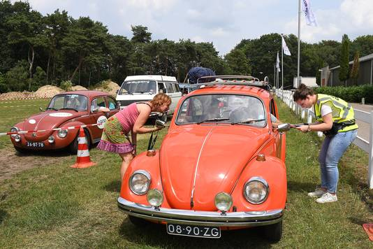 VW-dag op De Bergen in Wanroij.