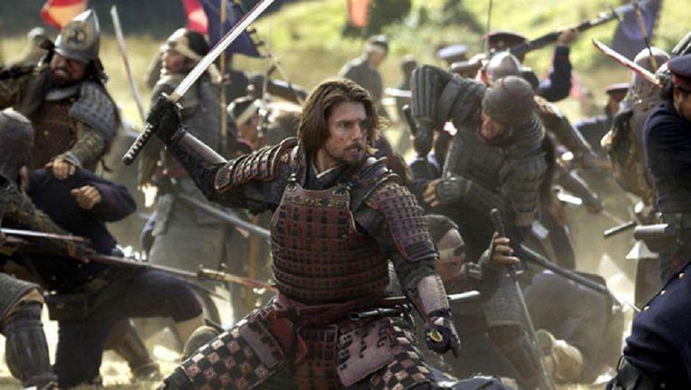 Tom Cruise in The Last Samurai, om 21:30 op Net 5. Beeld