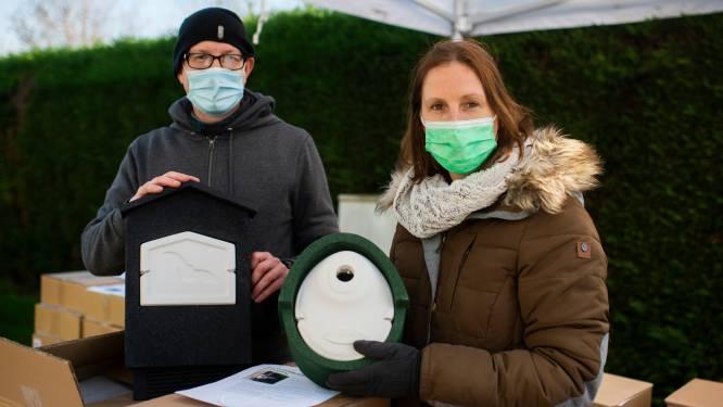"""Kontichnaren kopen tachtig vogel- en vleermuiskasten van gemeente: """"Biodiversiteit stimuleren"""""""
