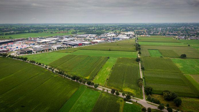 De zogenoemde 'taartpunt' van Staphorst is de locatie van het nieuwe bedrijventerrein De Esch IV.