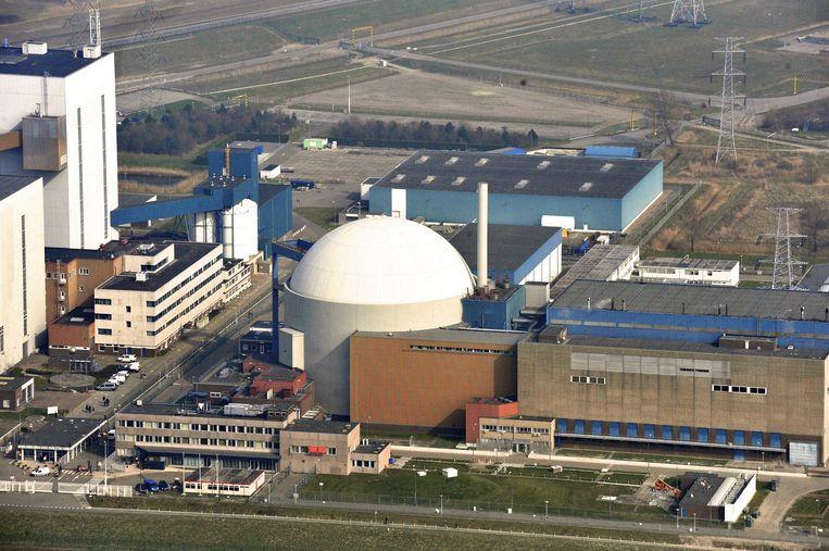 Luchtopname van de kerncentrale van Borssele. Beeld ANP