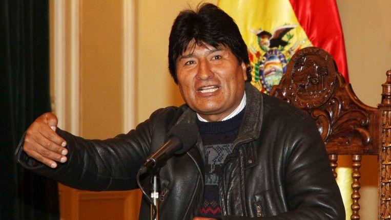 Boliviaans president Evo Morales. Beeld EPA