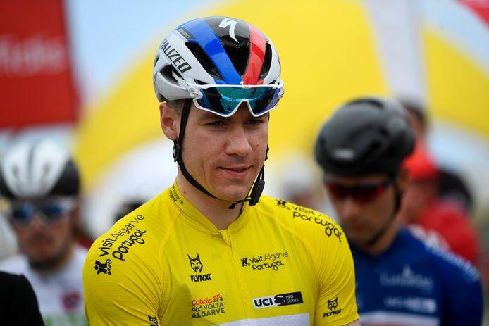 Fabio Jakobsen is zijn leiderstrui kwijt.