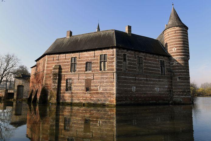 Het Kasteel van Horst is meer dan 500 jaar oud maar niet volgens de kaart op basis van gegevens van VITO.