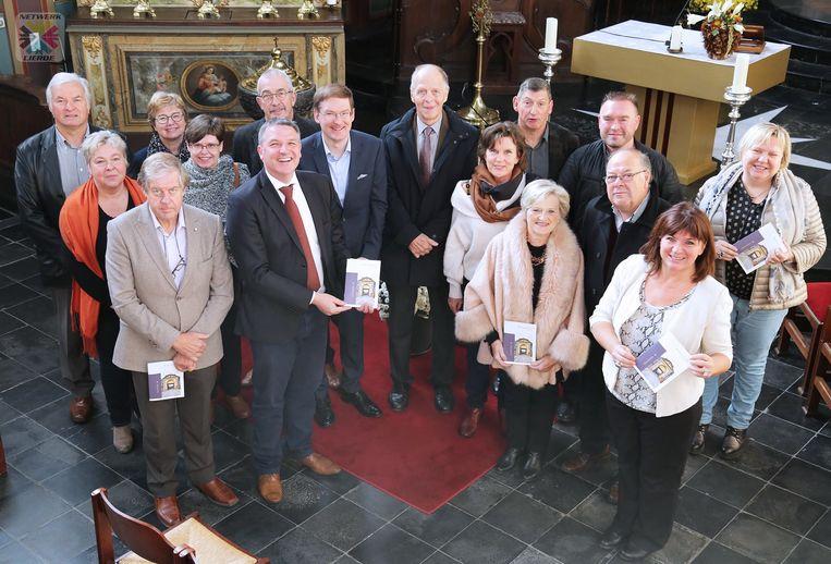 De brochure is gratis te verkrijgen in de kerk of bij de cultuurdienst in Lierde.