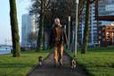 Hanno Berger liep vele avonden met zijn vrouw Stephanie langs de kade in Rotterdam om hun honden uit te laten.