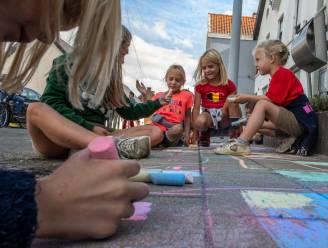 Nielse kinderen gaan stoeptekenen voor Buitenspeeldag