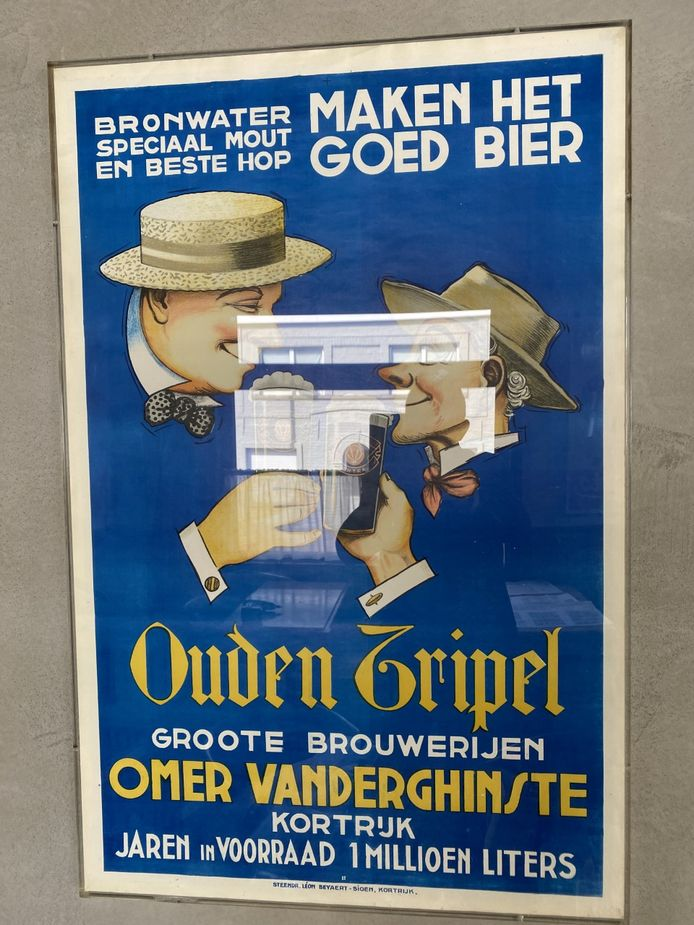 Een affiche van de jaren stilletjes