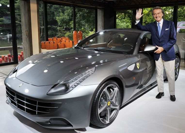 Ferrari-baas Luca di Montezemolo. Beeld afp