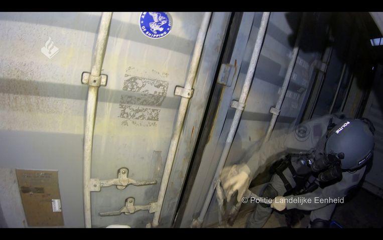 De politie ontdekte dankzij EncroChat dit martelcomplex in West-Brabant. Beeld Reuters