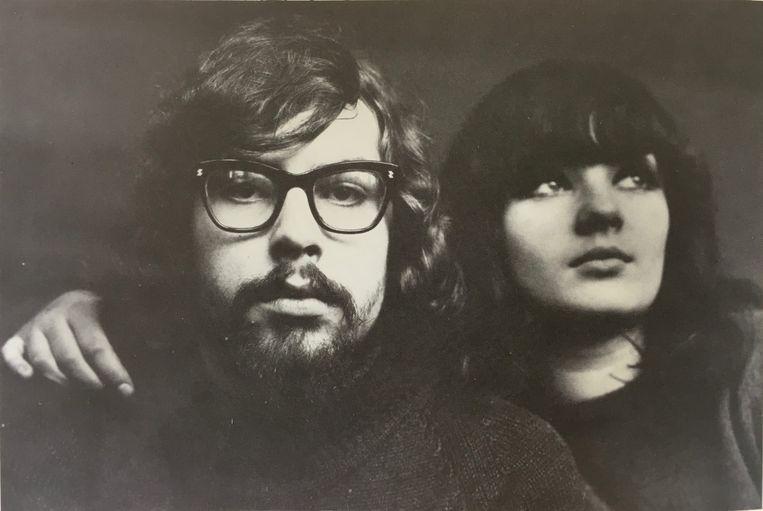 Jules Deelder & Rosalie Peters (1965-1966). Beeld Galerie Cokkie Snoei