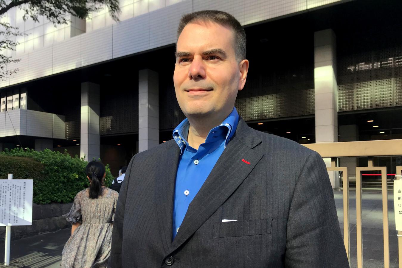 Glen Wood, 49 ans, un résident au Japon depuis trois décennies, travaillait pour la société de courtage Mitsubishi UFJ Morgan Stanley Securities.