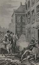 Plunderingen in Den Bosch in 1987. Soldaten van het garnizoen hielden stevig huis.
