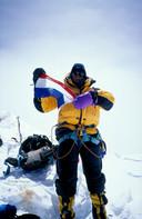 Katja Staartjes op de top in 1999.