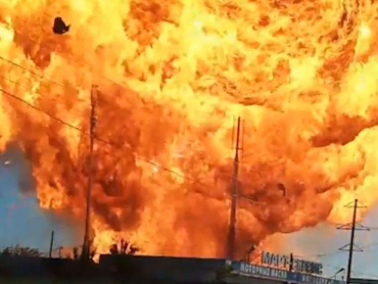 Au moins 33 blessés dans l'explosion spectaculaire d'une station-service en Russie