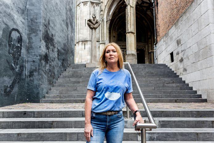 """Wendy Grutters: ,,Ik koester de herinneringen dat ik vaak met mijn vader door de stad wandelde."""""""