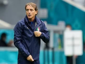 """Italiaans bondscoach Mancini: """"Ik hoop dat De Bruyne en Hazard erbij zijn"""""""