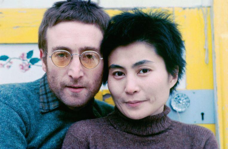 John Lennon en Yoko Ono in 1970, het jaar dat ze ieder een album uitbrachten met de Plastic Ono Band. Beeld Richard DiLello