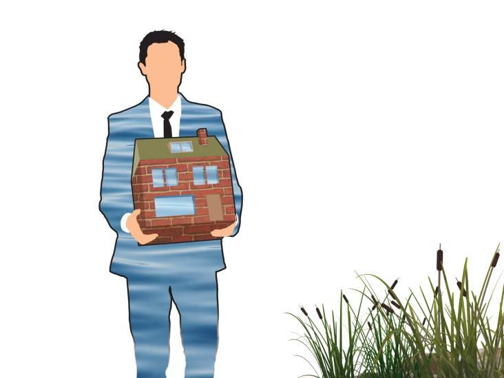 Lob van Gennep en de vrees voor een huis onder water