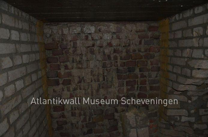 De bunker werd gevonden tijdens bouwwerkzaamheden in Kijkduin