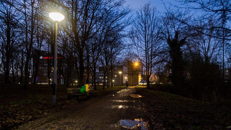 Volgens de politie is de situatie in het Bergwijkpark sterk verbeterd in vergelijking met vroeger, maar omwonenden zijn het daar niet mee eens Beeld Tammy van Nerum