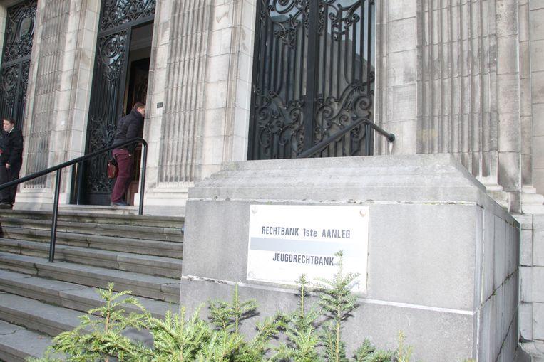Het gerechtsgebouw van Kortrijk.