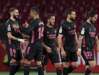 Real houdt titelstrijd tegen Atlético spannend, Eden Hazard levert assist voor derde Madrileense treffer