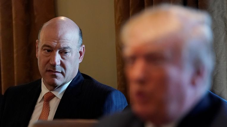 Gary Cohn, begin deze maand in het Witte Huis. Beeld REUTERS