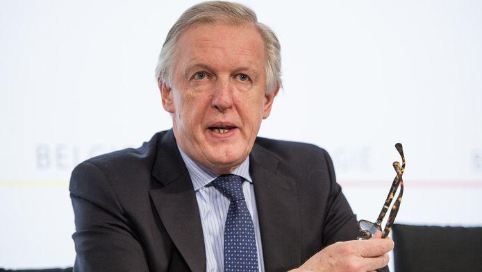 Minister van Pensioenen Daniel Bacquelaine.
