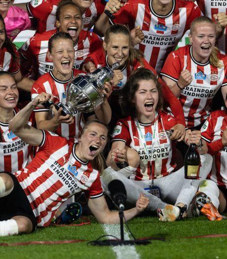 PSV verovert eerste prijs in clubhistorie bij de vrouwen
